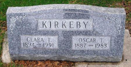 KIRKEBY, OSCAR T. - Winneshiek County, Iowa   OSCAR T. KIRKEBY