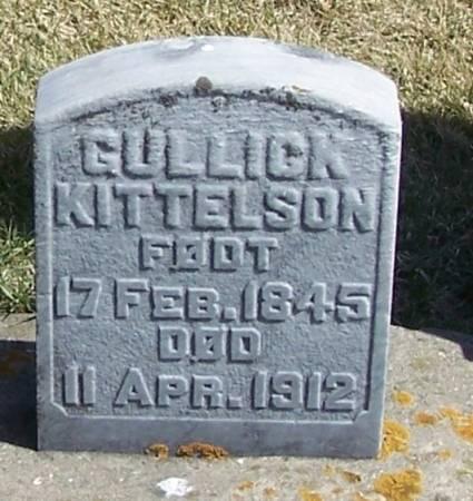 KITTELSON, GULLICK - Winneshiek County, Iowa   GULLICK KITTELSON
