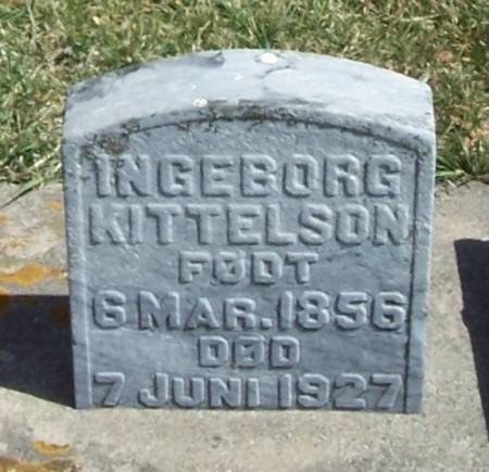 KITTELSON, INGEBORG - Winneshiek County, Iowa | INGEBORG KITTELSON