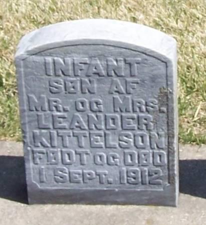 KITTELSON, INFANT SON3 - Winneshiek County, Iowa | INFANT SON3 KITTELSON