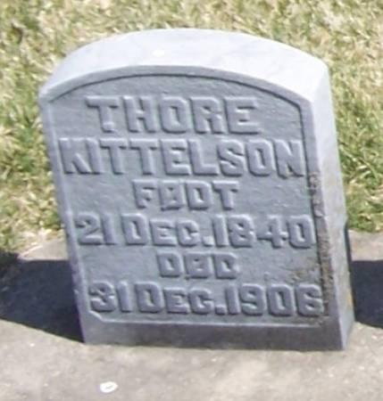 KITTELSON, THORE - Winneshiek County, Iowa | THORE KITTELSON