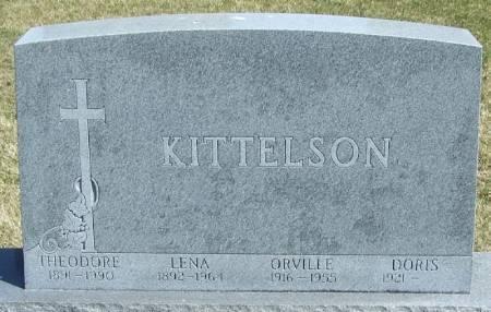 KITTELSON, LENA - Winneshiek County, Iowa | LENA KITTELSON