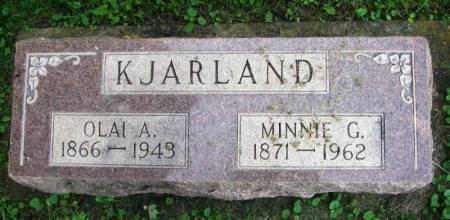 KJARLAND, MINNIE G. - Winneshiek County, Iowa | MINNIE G. KJARLAND