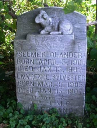 KJEERLAND, SELMER OLANDER - Winneshiek County, Iowa   SELMER OLANDER KJEERLAND