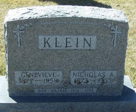 KLEIN, NICHOLAS A - Winneshiek County, Iowa | NICHOLAS A KLEIN