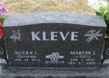 KLEVE, MARVIN JOHN - Winneshiek County, Iowa   MARVIN JOHN KLEVE