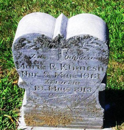 KLIMESH, MARIE R. - Winneshiek County, Iowa | MARIE R. KLIMESH