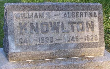 KNOWLTON, WILLIAM S - Winneshiek County, Iowa | WILLIAM S KNOWLTON