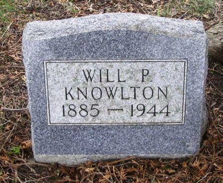 KNOWLTON, WILL P. - Winneshiek County, Iowa | WILL P. KNOWLTON
