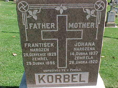 KORBEL, FRANTISEK - Winneshiek County, Iowa | FRANTISEK KORBEL