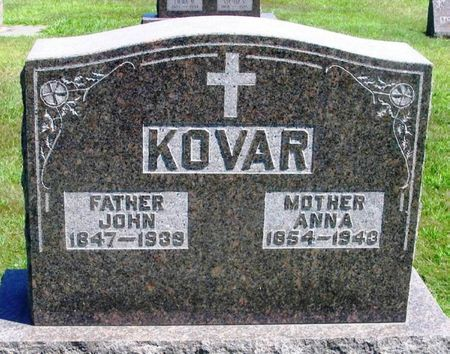 KOVAR, ANNA - Winneshiek County, Iowa | ANNA KOVAR