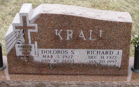 KRALL, DOLOROS S. - Winneshiek County, Iowa   DOLOROS S. KRALL