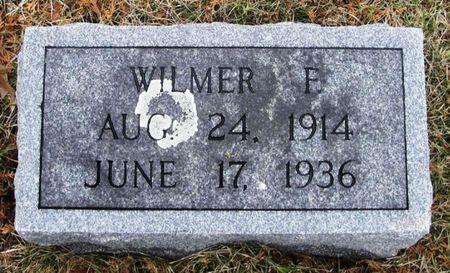 KRALL, WILMER F. - Winneshiek County, Iowa | WILMER F. KRALL