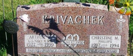 KRIVACHEK, CHRISTINE M. - Winneshiek County, Iowa | CHRISTINE M. KRIVACHEK