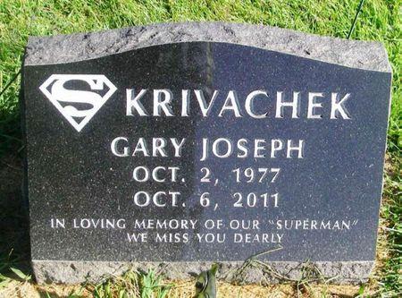KRIVACHEK, GARY JOSEPH - Winneshiek County, Iowa   GARY JOSEPH KRIVACHEK
