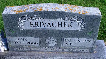KRIVACHEK, JOHN JOSEPH - Winneshiek County, Iowa   JOHN JOSEPH KRIVACHEK