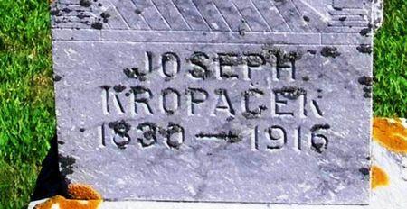 KROPACEK, JOSEPH - Winneshiek County, Iowa   JOSEPH KROPACEK