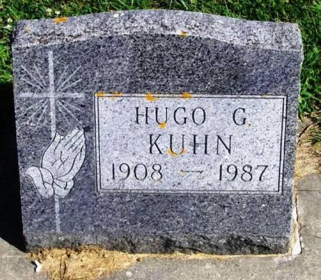 KUHN, HUGO G. - Winneshiek County, Iowa   HUGO G. KUHN