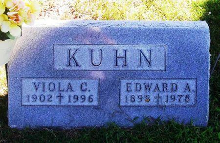 KUHN, VIOLA C. - Winneshiek County, Iowa   VIOLA C. KUHN