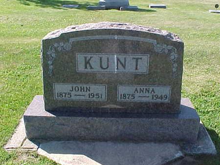 KUNT, ANNA - Winneshiek County, Iowa | ANNA KUNT