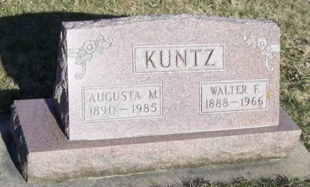 KUNTZ, WALTER F - Winneshiek County, Iowa | WALTER F KUNTZ