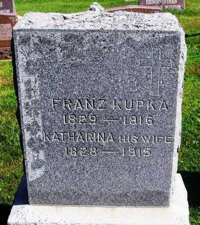 KUPKA, KATHARINA - Winneshiek County, Iowa   KATHARINA KUPKA