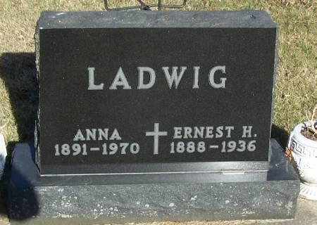 LADWIG, ANNA - Winneshiek County, Iowa | ANNA LADWIG