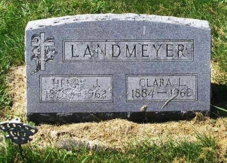LANDMEYER, CLARA L. - Winneshiek County, Iowa   CLARA L. LANDMEYER