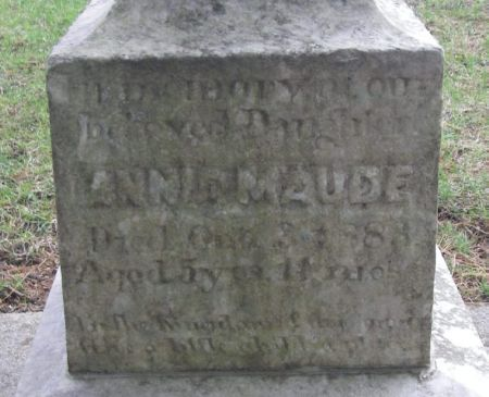 LANE, ANNIE MAUDE - Winneshiek County, Iowa   ANNIE MAUDE LANE