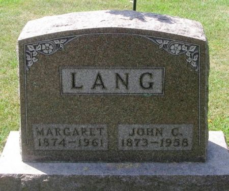 LANG, MARGARET - Winneshiek County, Iowa | MARGARET LANG