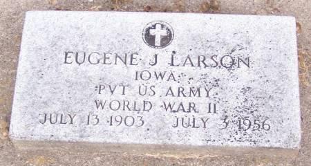 LARSON, EUGENE J - Winneshiek County, Iowa | EUGENE J LARSON