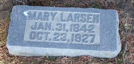 LARSEN, MARY - Winneshiek County, Iowa | MARY LARSEN