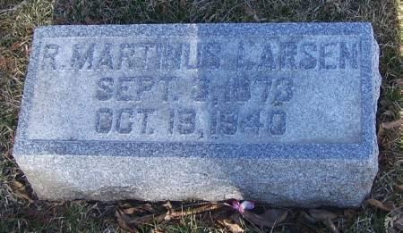 LARSEN, R MARTINUS - Winneshiek County, Iowa   R MARTINUS LARSEN