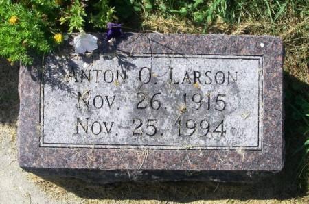 LARSON, ANTON O. - Winneshiek County, Iowa   ANTON O. LARSON