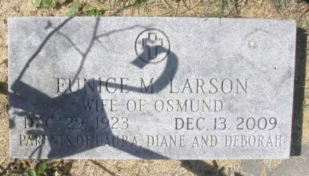 LARSON, EUNICE M. - Winneshiek County, Iowa | EUNICE M. LARSON
