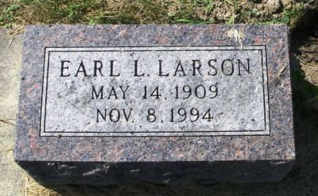 LARSON, EARL L. - Winneshiek County, Iowa   EARL L. LARSON