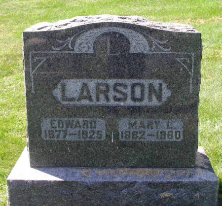 LARSON, EDWARD - Winneshiek County, Iowa | EDWARD LARSON