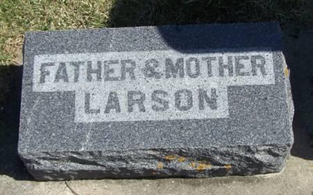LARSON, FATHER - Winneshiek County, Iowa | FATHER LARSON