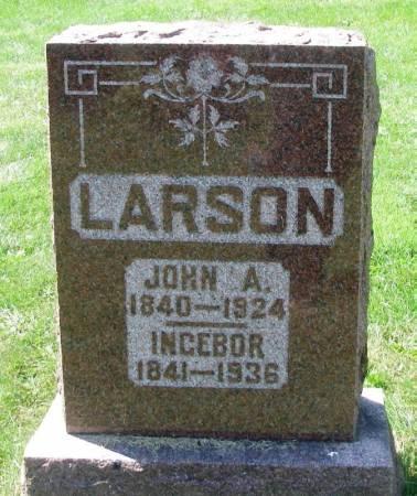 LARSON, INGEBOR - Winneshiek County, Iowa | INGEBOR LARSON