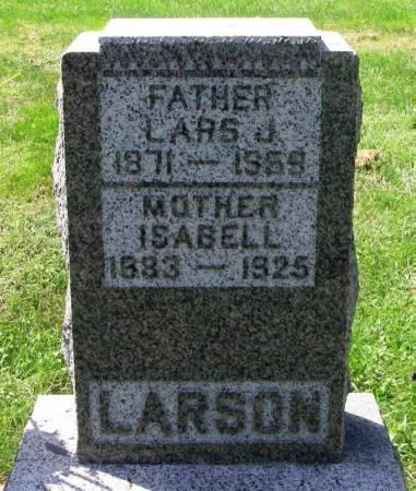 LARSON, ISABELL - Winneshiek County, Iowa | ISABELL LARSON