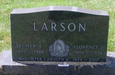 LARSON, CAROLYN A. - Winneshiek County, Iowa   CAROLYN A. LARSON