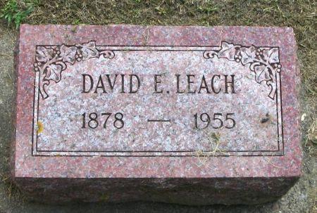 LEACH, DAVID E. - Winneshiek County, Iowa | DAVID E. LEACH