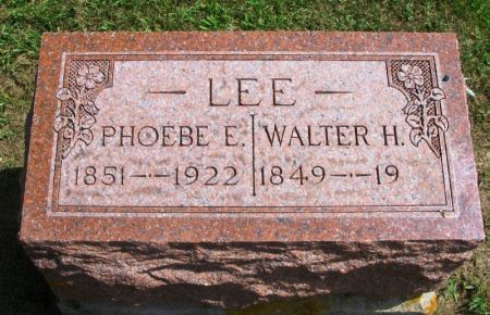 LEE, WALTER H. - Winneshiek County, Iowa | WALTER H. LEE