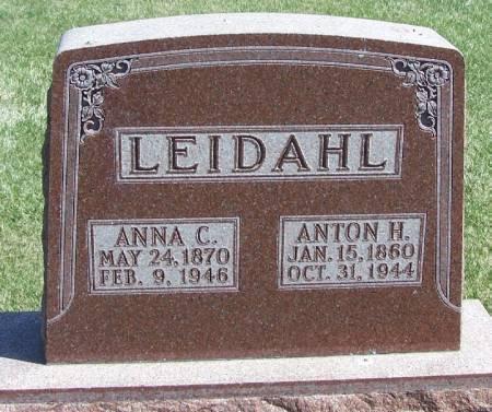 LEIDAHL, ANNA C - Winneshiek County, Iowa | ANNA C LEIDAHL