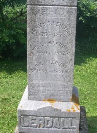 LERDALL, OLINE H. - Winneshiek County, Iowa | OLINE H. LERDALL