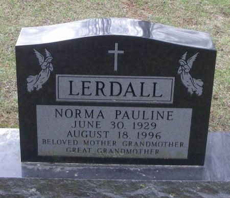 LERDALL, NORMA PAULINE - Winneshiek County, Iowa | NORMA PAULINE LERDALL