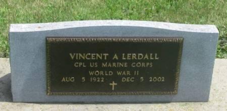 LERDALL, VINCENT A. - Winneshiek County, Iowa   VINCENT A. LERDALL
