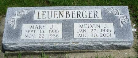 LEUENBERGER, MARY J. - Winneshiek County, Iowa | MARY J. LEUENBERGER