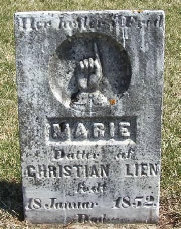 LIEN, MARIE - Winneshiek County, Iowa | MARIE LIEN