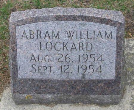 LOCKARD, ABRAM WILLIAM - Winneshiek County, Iowa | ABRAM WILLIAM LOCKARD